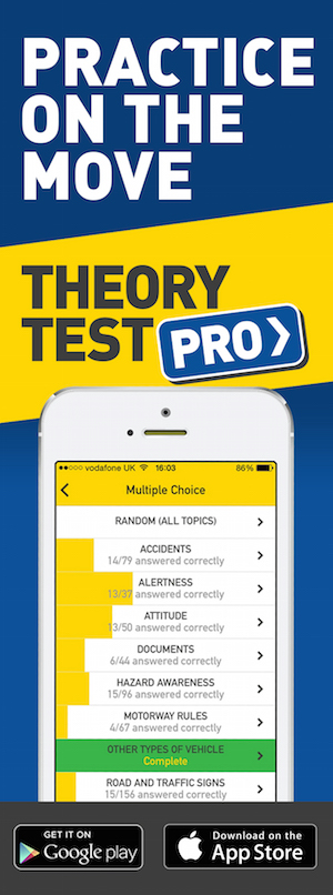Theory Test Pro in partnership with TS Driving Tuition
